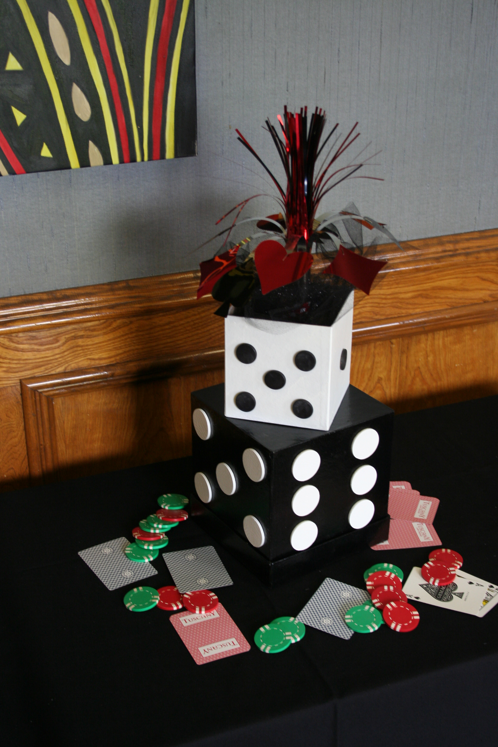 Step By Step Diy Party Decor Tips Casino Knights